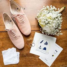 #AtelierRepetto Like @timoussbrittany, customize your dream pair of shoes for your wedding day! Initials or a first name can also be affixed on the inner sole, the ultimate final touch. Set an appointment : http://www.repetto.com/en/atelier-repetto.html Thank you @meryl_mng, who offered Marion this beautiful present for her wedding. ©pierrot chevallier