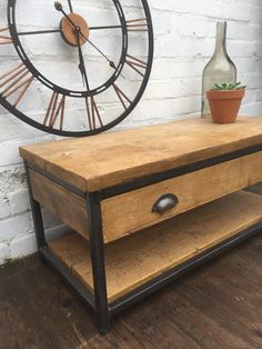 Revolution Coffee Table with Drawer and Shelf