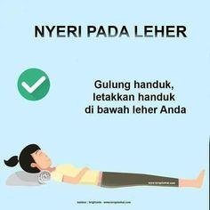 Nyeri Leher Healthy Beauty, Health And Beauty Tips, Healthy Tips, Health And Wellness, Health Care, Health Fitness, Study Biology, Reflexology, Health Education