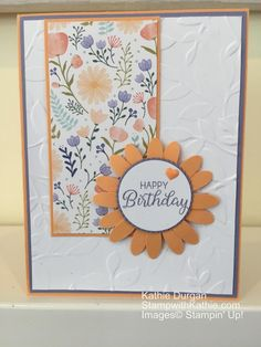 Today I'm using the Daisy Punch and the Daisy Delight DSP for the challenge for CAS(E) this Sketch.  I think I'm really, I mean REALLY ready for Spring! This paper is so pretty I though…