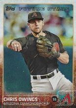 2015 Topps Baseball Rainbow #63 Chris Owings - Arizona Diamondbacks FS
