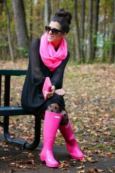 Black and pink - Shoes and beauty