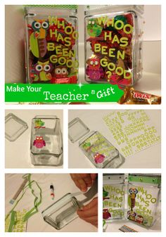The end of the school year is fast approaching!  Have you made your teacher a gift? Make a Candy Jar for your teacher!  #TeacherGifts  ♥ CLICK HERE FOR TUTORIAL!