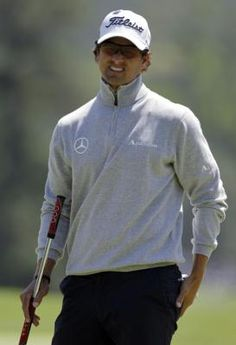 Adam Scott... Thanks to my dads love of golf, I've fallen in love with this guy