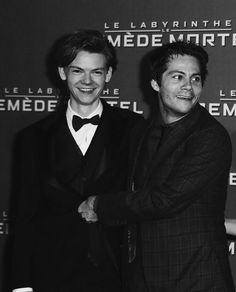 thomas brodie-sangster and dylan o'brien