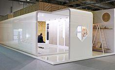 Durstone Stand for Cersaie 2013 Exhibition. Design by VXLAB Branding & Design Direction