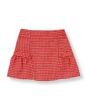 Janie and Jack - Button Dot Wool Blend Skirt