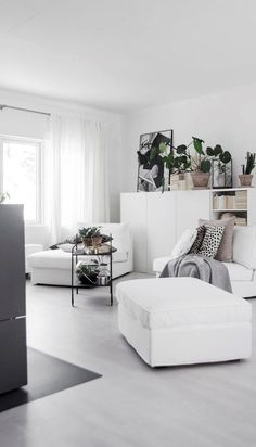 trendy scandinavian living room design
