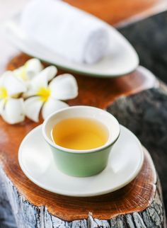 Enjoy a cup of Wedang Jahe, an Indonesian ginger tea with lemongrass, after your day of wellness at The Ritz-Carlton Spa, Bali. Sweeten it with honey.