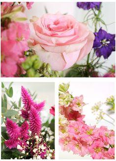FELICE // Die schönste Vorstellung einer #Sommerwiese verspricht Ihnen dieser #Blumenstrauß. Luftig gebunden wirken die #Rosen, #Germinis, Celosia und #Rittersporn wie frisch gepflückt. Die sommerlichen Farben reichen von #Blau über #Pink und #Rosé bis hin zu den weißen Tupfern des großblütigen #Schleierkrauts. Neben Eukalyptus und Dracaenblättern finden sich auch Pistazie und Salal in dieser wunderschönen Komposition. // Lieferbar bis zum 09.09.2015