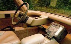 ItalDesign Capsula, 1982 - Interior