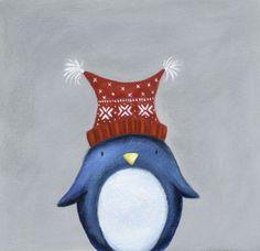 Ileana Oakley - Christmas Penguin Woolly Hat