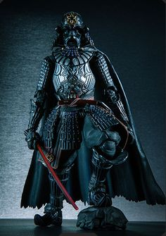"[名将]侍大将ダース・ベイダー 2014年12月発売 Photo 00 / [Great Samurai Commanders] MOVIE REALIZATION Samurai General Darth Vader in December 2014 released | TAMASHII Web: Photo 00: By Mr. Takeya Takayuki's Japanese-style arrangement, one and only, anyone that has not seen ""Samurai General Darth Vader"" coming here! Sculpted by Mr. Junichi Taniguchi. (http://tamashii.jp/special/sw/lineup_mr.html) #HOBBY #STARWARS #MOVIE_REALIZATION #BANDAI #TAMASHII_Web"
