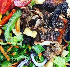 When you've made a weekend full of eating mistakes adding a little green with your jerk chicken should fix it!  :@thefloridapalate #TuesdayMotivation #GoldenKrust by goldenkrust