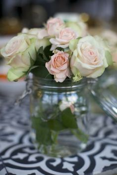 light colored roses