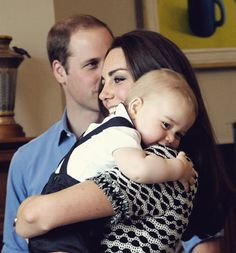 adorable | prince george, kate & william | photo marty melville