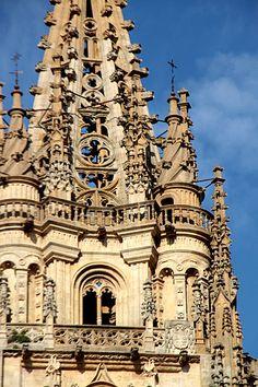 La Torre de Santa Bárbara en la catedral de Oviedo