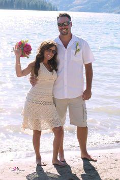 Casual Lake Wedding
