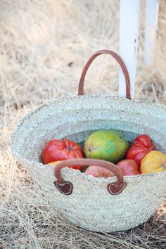 Dreamy Whites: Handmade French Styled Market Baskets