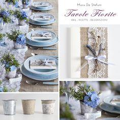 Tavole Fiorite | Mara De Stefani Table Decorations, Wedding, Furniture, Home Decor, Fiestas, Events, Valentines Day Weddings, Decoration Home, Room Decor