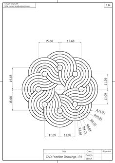Autocad Isometric Drawing, Isometric Drawing Exercises, 3d Drawing Techniques, Geometric Drawing, Pin On, Geometry Art, Mandala Dots, Happy Paintings, 3d Drawings