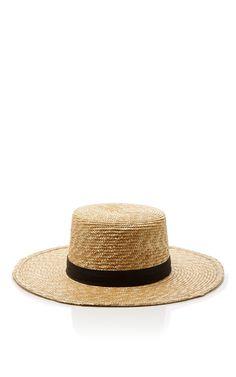 Klint Bolero Hat by JANESSA LEONE Now Available on Moda Operandi 7346d2fdc6b1