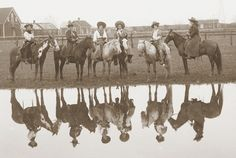 Cowgirls at the 101 Ranch  ca. 1905-1910 (collection of the National Cowboy and Western Heritage Museum)