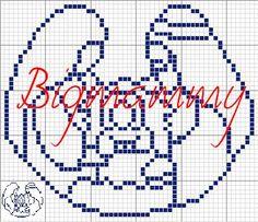 free Mini Cross Stitch, Cross Stitch Charts, Cross Stitch Designs, Cross Stitch Patterns, Snowman Christmas Ornaments, Christmas Cross, Cross Stitching, Cross Stitch Embroidery, Cross Stitch Freebies