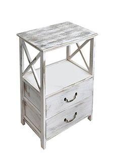 Credenza in paulownia con 3 cassetti elegance 95x76x30 cm meuble forniture pinterest - Mobiletto cucina amazon ...