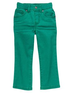 Colored Skinny Pants at Gymboree