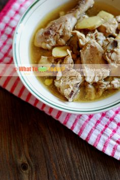 DRUNKEN CHICKEN SOUP | WHAT TO COOK TODAY?