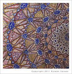 Patterns - Dome Details   ::   مسجد مریم زمانی لاهور - Mosque of Mariyam Zamani Begum also known as Begum Shahi Mosque is a mosque situated Walled City of Lahore      By яızωαи