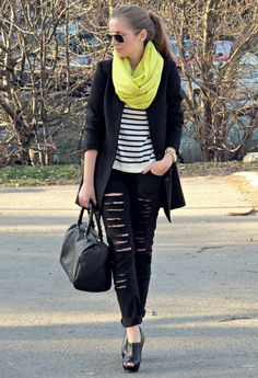 Get her jeans here: http://www.tobi.com/product/44504-uniq-inc-destroyed-skinny-jeans?color_id=56780