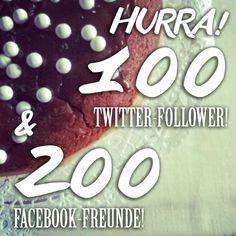 Wow! Das ist eine tolle Überraschung und ein Grund zum Feiern. Vor nicht all zu langer Zeit wurde FINNWEH ein halbes Jahr alt und pünktlich zum ersten September darf ich 200 #Facebook-Freunde und 100 #Twitter-Follower begrüßen. Danke! KIITOS! #Party #celebrate #follower #bestfansever #esgibtkuchen #danke #Freunde #bff