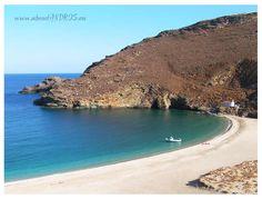 Achla beach, ANDROS island, Greece