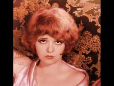 Colorizations of Clara Bow