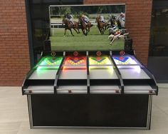 Rent Games like you see at state fair. Rent our Roll A Ball Horse Racing Carnival Game available in California Bay Area. Carnival Game Rentals, Carnival Tent, Carnival Themes, Horse Race Game, Horse Racing, Rent Games, Inflatable Rentals, Dunk Tank, Outdoor Party Games