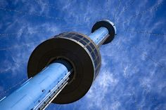 Looking up at the Skytower in SeaWorld San Diego