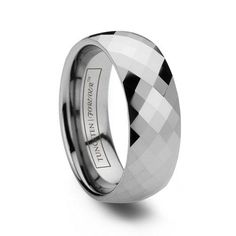 Looks like my Dad's band!  Tungsten wedding bands ideas for men | General Valentine