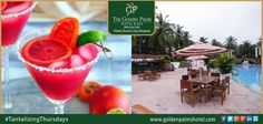 Bengaluru's Golden Palms Hotel & Spa offers a long list of beverages to help you relax and unwind Visit www.goldenpalmshotel.com for details. #TantalizingThursdays