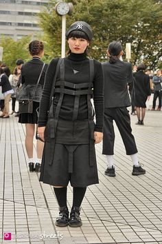 FASHION JAPAN - a place where you will come out transformed. They have such great ideas, thank you, Japan!