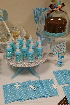 Candy buffet azul