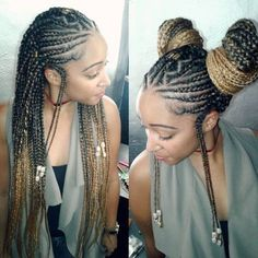 All You Can Do with Waist-length braids - Loud In Naija