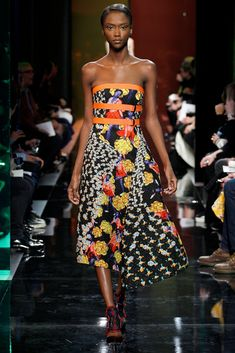 Peter Pilotto Fall 2014 Ready-to-Wear Fashion Show - Riley Montana