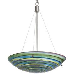 Kalco Lighting K6155SN Aqueous Up Light Pendant Light - Satin Nickel