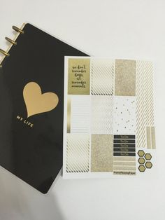 Happy Planner Golden Moments Sticker Sheet