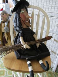 Adele OOAK Witch by TwistedBones on Etsy, $20.00