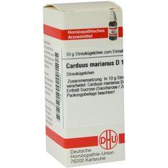 CARDUUS MARIANUS D 1 Globuli:   Packungsinhalt: 10 g Globuli PZN: 07455643 Hersteller: DHU-Arzneimittel GmbH & Co. KG Preis: 5,50 EUR…