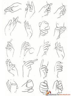 手的画法2