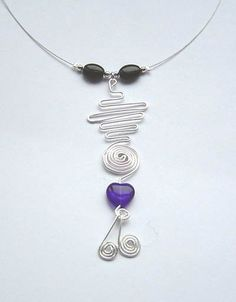Image detail for -SALE: Unique Pendant Design Necklace | The Beading Lady MISI Handmade ...